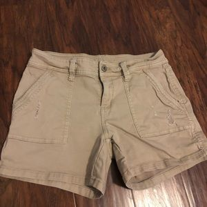 Arizona Distressed Khaki Short